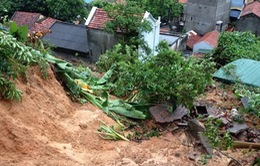 Mưa lớn tại Lào Cai, 1 người bị thương, hư hại nhiều tài sản