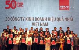 Công bố 50 công ty kinh doanh hiệu quả nhất trên TTCK Việt Nam