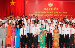 Đại hội Mặt trận Tổ quốc tỉnh Kiên Giang