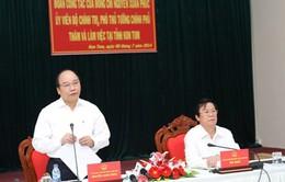 Phó Thủ tướng Nguyễn Xuân Phúc làm việc tại tỉnh Kon Tum