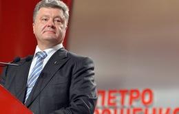 Tổng thống Ukraine ca ngợi thắng lợi tại Slaviansk