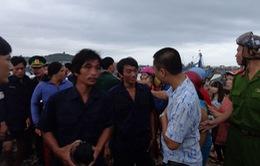 Vụ chìm tàu cá Bình Thuận: Tìm thấy thi thể 1 thuyền viên mất tích