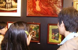 Sinh viên Huế mở triển lãm mỹ thuật dành tặng Đà Lạt