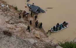Trực thăng rơi ở Campuchia do hỏng động cơ
