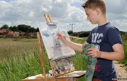 """""""Tiểu Monet"""" nước Anh tổ chức triển lãm tranh lần 9"""