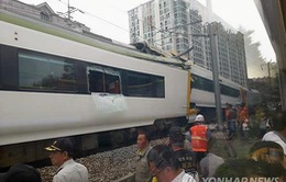 Hàn Quốc: Tàu hỏa đâm nhau, 80 người bị thương