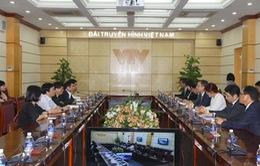 Tăng cường hợp tác giữa VTV với các đối tác Hàn Quốc