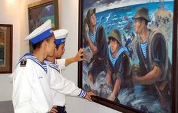 """Hải Phòng: Triển lãm mỹ thuật """"Hướng về biển đảo quê hương"""""""
