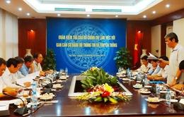 Kiểm tra việc thực hiện Nghị quyết Trung ương 4 khóa XI tại Bộ TT&TT