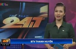 Bản tin Thể thao 24/7 ngày 14/8/2014