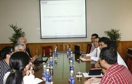 Phó TGĐ Trần Dũng Trình làm việc với ITU về lộ trình số hóa của VTV