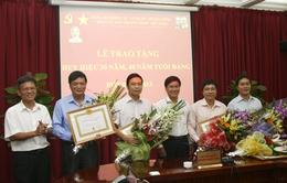 Đài THVN trao tặng Huy hiệu 30, 40 năm tuổi Đảng đợt 2/9/2013