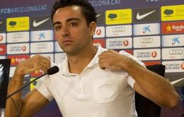 """Xavi: """"Barcelona chưa bao giờ ở cửa dưới"""""""