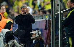 """Mourinho thừa nhận đã """"hết bài"""" trước Dortmund"""