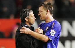 """John Terry công khai bày tỏ """"tình cảm"""" với  Jose Mourinho"""