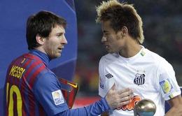 """Neymar đưa Messi lên """"mây xanh"""""""