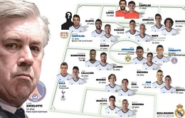 Ancelotti: Real sẽ chơi bóng quyến rũ để chiến thắng