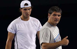 Không thuê HLV nổi tiếng, Nadal quyết trung thành với chú ruột