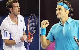 Tứ kết Australian Open: Federer – Murray, khi lịch sử quay lưng lại với FedEx