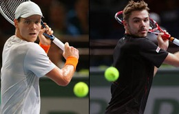 BK Australian Open 2014, Wawrinka - Berdych: Kỳ phùng địch thủ