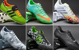 10 mẫu giầy bóng đá tốt nhất năm 2014