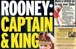 """Rooney ở lại M.U: """"Mối tình"""" tiền bạc"""