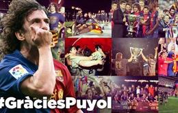 Barcelona chia tay người cận vệ già Carles Puyol