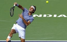 """Indian Wells 2014: Federer & Murray cùng nhau """"vượt cạn"""" vào vòng 4"""