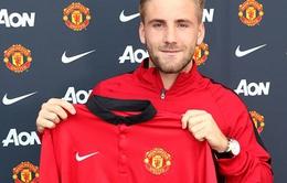 """Man United: Luke Shaw, """"Tôi đang hưng phấn đến phát điên"""""""