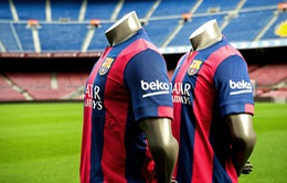 Barcelona: Ông hoàng quảng cáo áo đấu