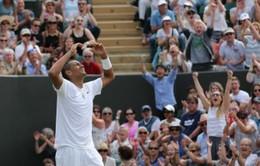 Vòng 4 Wimbledon 2014: Nadal & Kyrgios, cuộc đấu của gã khổng lồ và chú bé tý hon