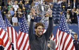 US Open 2014 tăng tiền thưởng lên mức kỷ lục