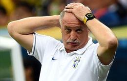 Felipe Scolari chính thức từ chức HLV Brazil