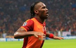 Mất quái thú Alvaro Negredo, Man City săn voi rừng Didier Drogba