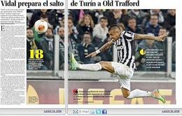 """Man United """"đánh úp"""" bộ đôi Arturo Vidal và Edinson Cavani trong tuần này"""