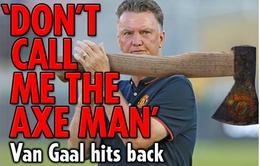 """HLV Van Gaal: Xin đừng gọi tôi là """"sát thủ"""""""