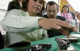 """Mexico khuyến khích """"đổi súng lấy đồ điện tử"""""""
