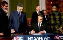 New York thông qua đạo luật sở hữu súng