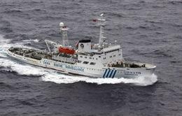 Tàu Trung Quốc lại xuất hiện gần đảo tranh chấp với Nhật