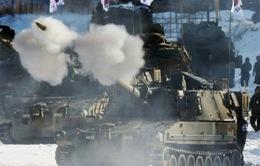 Hàn Quốc tập trận gần khu phi quân sự