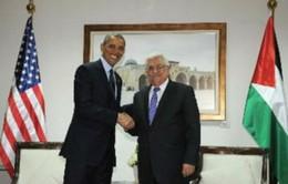 Tổng thống Mỹ hội đàm cùng Tổng thống Palestine