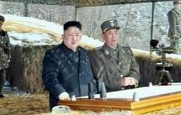 Kim Jong-un thị sát diễn tập máy bay không người lái