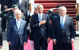 """Tổng thống Obama: Quan hệ Mỹ - Israel là """"vĩnh cửu"""""""
