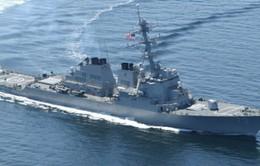 Mỹ điều tàu khu trục thứ 2 tới châu Á - TBD