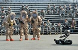 Mỹ và Hàn Quốc tập trận chống vũ khí hóa học