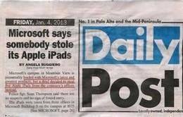 Trộm đột nhập văn phòng Microsoft lấy... iPad
