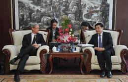 Tim Cook lại thăm Trung Quốc