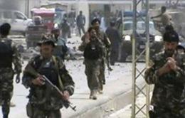 Taliban đánh bom vào đoàn xe ngoại giao Mỹ