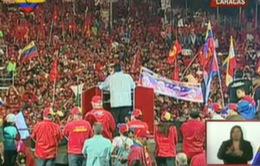 Venezuela: Kết thúc chiến dịch vận động tranh cử tổng thống