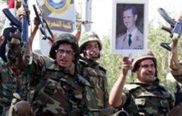 Quân đội Syria tái chiếm 5 thị trấn gần biên giới Lebanon